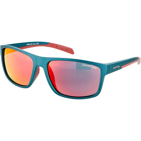 Alpina Nacan I Okulary, indigo matt-cherry/red mirror